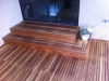 Clear A grade redwood deck