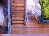 Clear A grade redwood deck with stairs