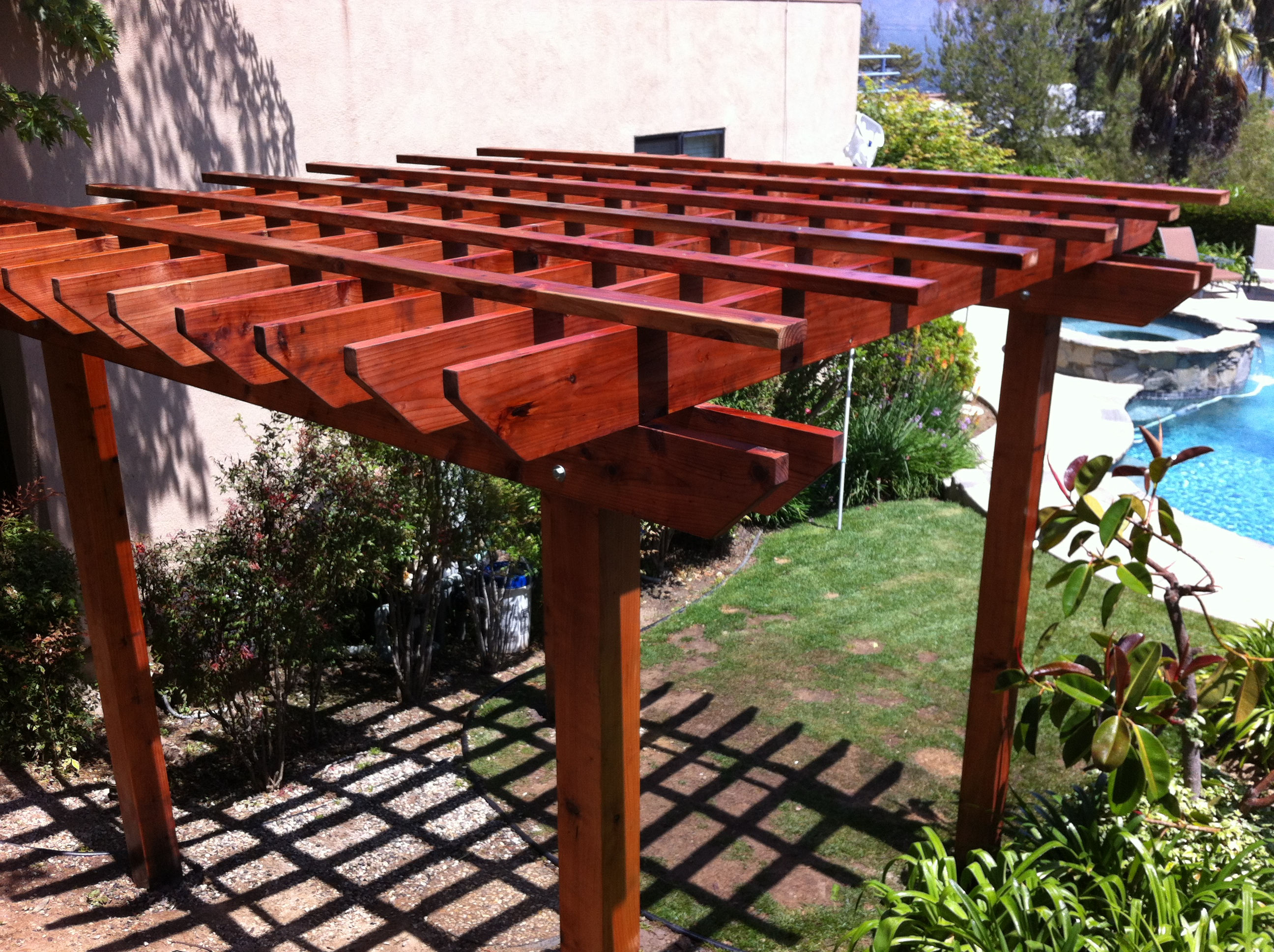 Redwood Patio Cover Home Design